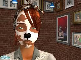 dog face makeup