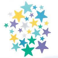 pastel stars