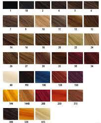 shades of hair colors