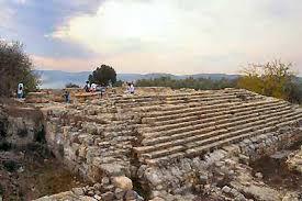 בית ישראל * Haus ISRAEL Samaria_steps_to_Herodian_temple,_56-12tb
