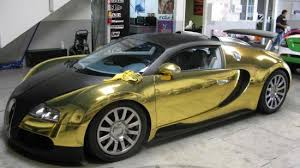 gold cars