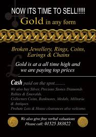 gold advert