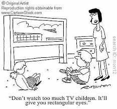 kids watching too much tv