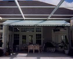 screened awning