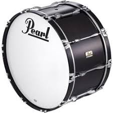 pearl marching bass drums