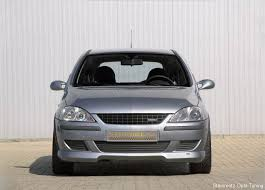 corsa front grill