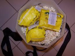 packaging popcorn