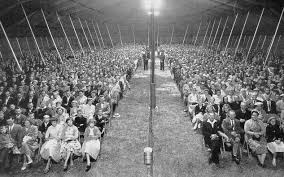 revival tent