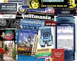 internet collage