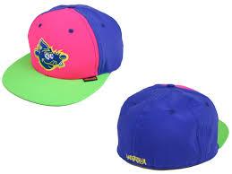 neon baseball hats