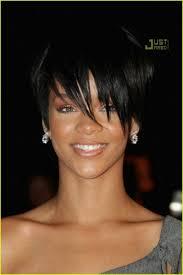 black woman short hair