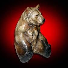 bear sculptures