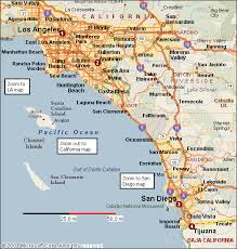 map of cities in southern california