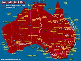 railroad lines map