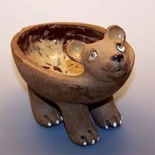 bear ceramic