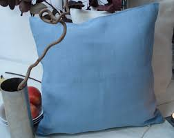blue cushion covers