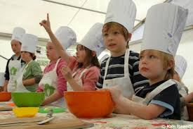 children and cooking
