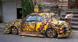 custom car art