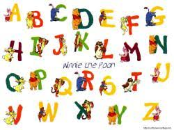 alphabet wallpapers