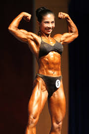 body building woman