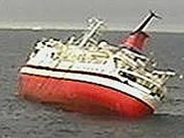 cruise ship crashes