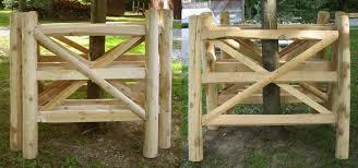 split rail fence gates