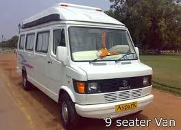 9 seat van