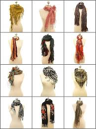 hot to tie a scarf