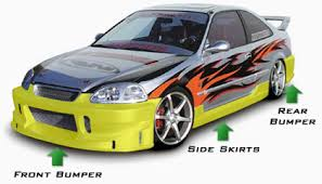 honda civics body kits