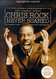 chris rock never scared dvd