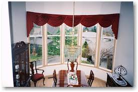 bow window coverings
