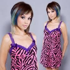 pink zebra dresses