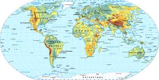 a big world map