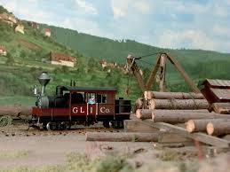 logging locomotive
