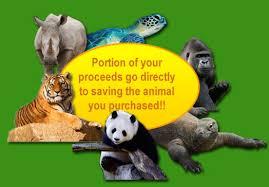 endangered animals logo