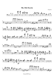 old music scores