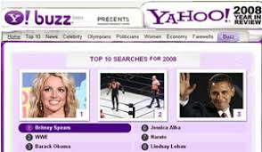 yahoo top searches