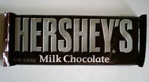 hershey milk chocolate bars