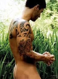 male body tattoos