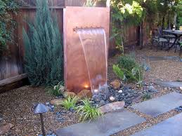 copper water features