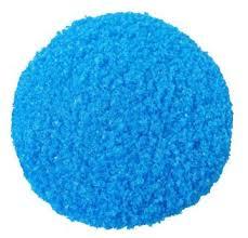 copper sulphate blue