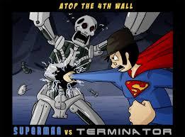 terminator vs superman