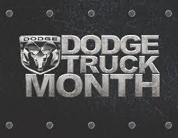 dodge truck month