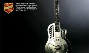 national resophonic guitars