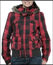 plaid hunting jacket