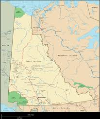 map of yukon canada