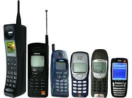 evolution of cellphone