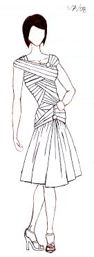 dresses drawing