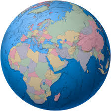 a picture of the globe