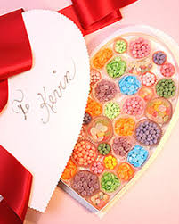 heart shaped candy boxes